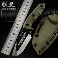 HX Outdoor Mini Outdoor Knife D2 Materials Blade Fixed Blade Brand Survival Straight Camping Knives Multi