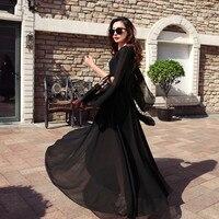 Summer Women Dress Chiffon Casual Long Beach Party Dress Plus Size Elegant Dress Vestidos De Fiesta
