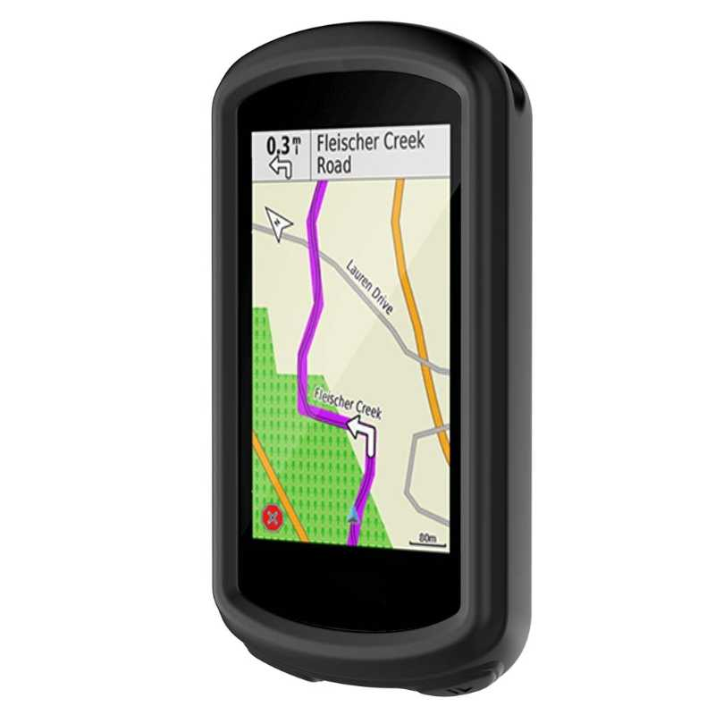 New Black Silicone Skin Case Cover For Garmin Edge 1030 GPS Cycling Computer
