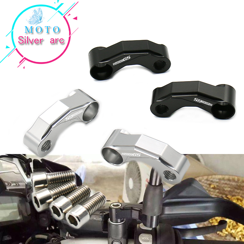 Mirrors Riser Extension Brackets Adapter For <font><b>BMW</b></font> R <font><b>1200</b></font> <font><b>GS</b></font> 1200GS R1200GS <font><b>LC</b></font> <font><b>Adventure</b></font> ADV 2013-2016 2015 2014 Motorcycle image