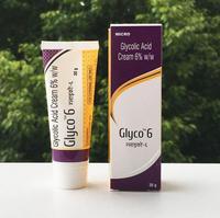 Aha GLYCO Połysk skóry krem 6% kwasowości blain przejść do wklęsłe dziury kwas owocowy krem trądzik usuwanie blain blizna odcisk produkty