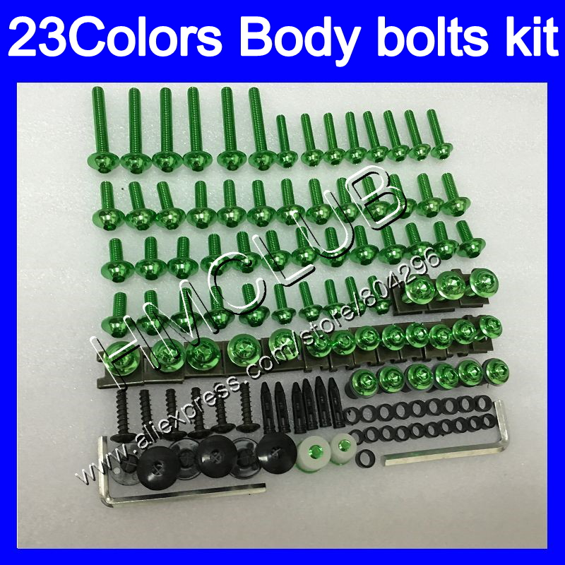 Complete Fairing bolts kit For KAWASAKI NINJA ZX10R 08 09 10 11 ZX 10R 08 ZX 10R 2008 2009 2010 2011 Full Body screws Nuts screw