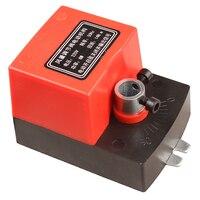 Atuador para o duto de ar elétrico da válvula do amortecedor do ar motorizado o amortecedor para a válvula 220 v 24 v 12 v 14n. m da tubulação de ventilação|Peças p ar condicionado|Eletrodomésticos -
