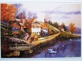 Latest free shipping education toys 500 Pieces landscape Jigsaw Paper Puzzle Hot Selling Children Gift picture puzzles