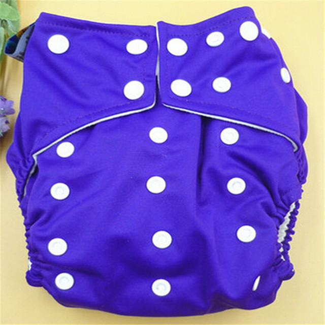 New Brand Solid Color Nappy Charcoa Bamboo Baby Cloth Diaper Nappy