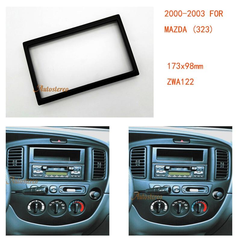 Car radio fascia for mazda323626capellademiofamilia car radio fascia for mazda323626capellademiofamiliamilleniampvmx 5miata stereo fascia dash installation kit zwa11 122 in fascias from automobiles sciox Images