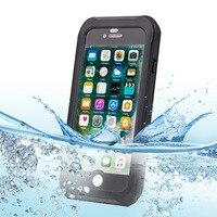Waterproof Shockproof Dustproof Rugged For Iphone 6 Plus 6S Plus 7 Plus 5 5 Cfingerprint Unlock