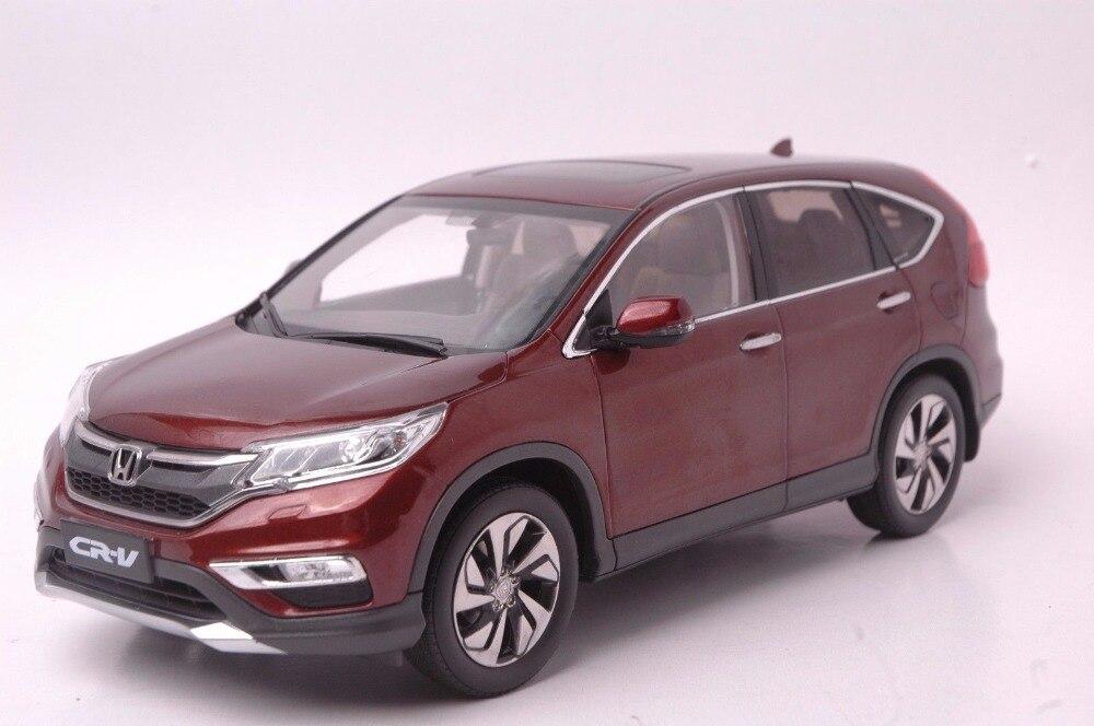 1:18 Miniature: pour Honda CR-V 2015 SUV Brun Rare Alliage Jouet Voiture Miniature Collection Cadeaux CRV CR V