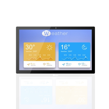 High resolution 18.5 inch Android advertising display with