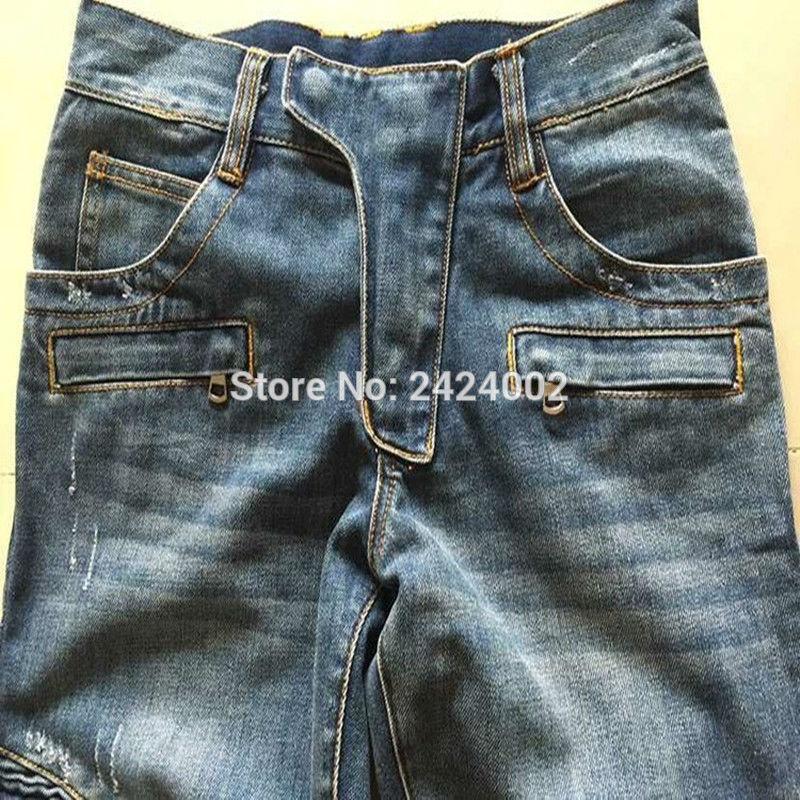 Ανδρικά Balmai τζιν παντελόνι άνδρες - Ανδρικός ρουχισμός - Φωτογραφία 4