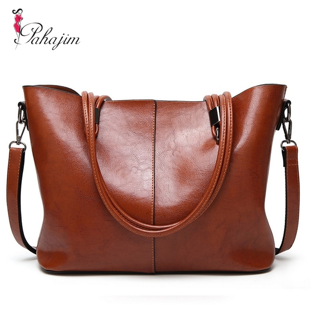 f4d09283dd1f Bolsa Feminina Grande Handbag 2018 New Fashion Women Bag Women Leather  Handbags Woman Large Shoulder Bags Casual Tote Bag