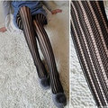 Western Style Lady Girl Fashion Personality Stocking Vertical Stripe Sexy Hollow Out Tights Vintage Fashion Women Pantyhose