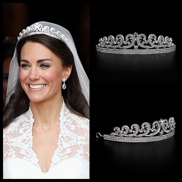 Aliexpress Com Buy Kate Amp William Royal Rhinestone