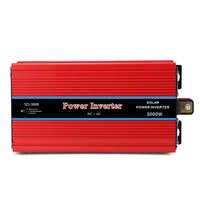 Автомобильный инвертор 3000 Вт DC 12 В к AC 220 В USB 5 В 2A зарядное устройство преобразователь напряжения питания адаптер Модифицированная синусоид...