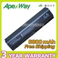 Apexway 12 zellen akku für hp ks524aa ks526aa ks527aa ev06055 g50 g61 G71 Presario CQ40 CQ45 CQ50 CQ60 CQ61 DV6 DV4 DV5 G50 G60