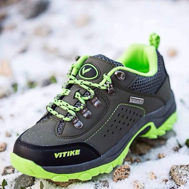 ФОТО children walking shoes girls boys sports shoes children outdoor footwear hiking  sneakers