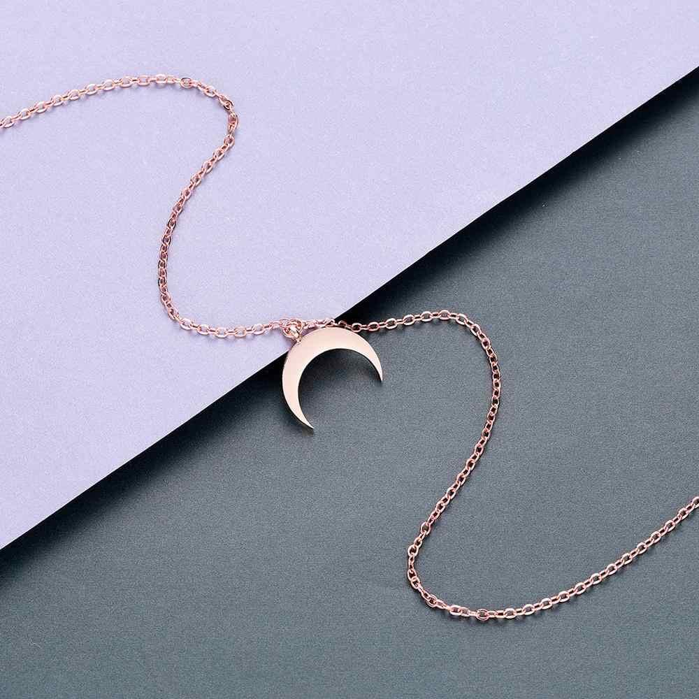 Todorova biżuteria ze stali nierdzewnej OX Horn naszyjnik półksiężyc naszyjnik prezenty dla kobiet Femme Collare Mujer Bijoux