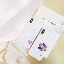 Love Balloon Phone Case iPhone 6 6s Plus 7 8 Plus