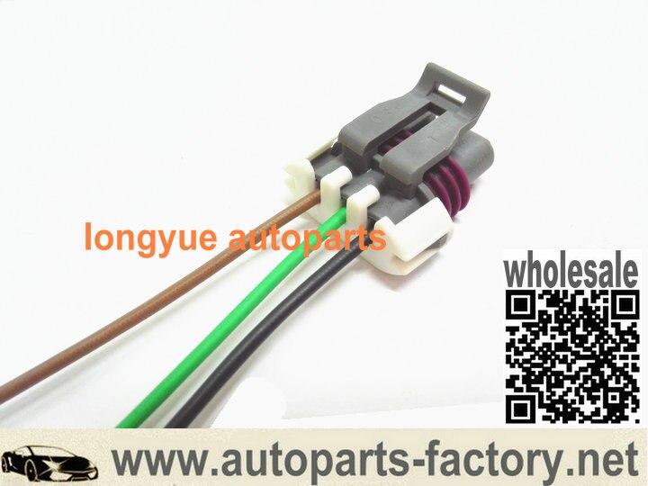 US $8 73  longyue 2pcs Manifold Absolute Pressure map sensor Wiring Pigtail  Connector LS1 LS2 LS6 12