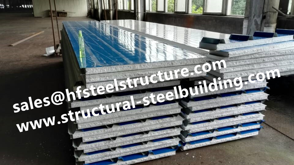China Manufacturer Insulation Material For Cold Storage System And EPS Sandwich Panel For Industrial Blast Freezers