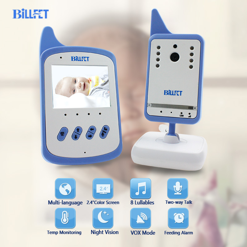 Baby Sleeping Monitor Video Baby Monitor with Camera Wireless Video Nanny Lullaby IR Night Vision VOX