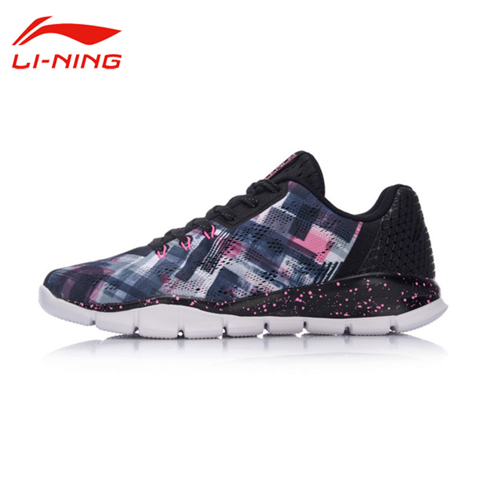 Li-Ning Women's Quick XT Running Shoes Breathable Cushioning LiNing Sneakers Light Sports Shoes Li Ning ARKM026 original li ning men professional basketball shoes
