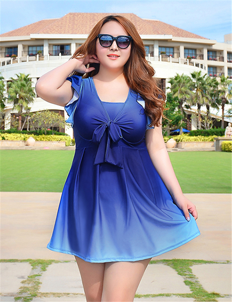 2016 Swimming Suit For Women Maillot De Bain Swimsuit Plus Size Swimwear Dress Female Push Up