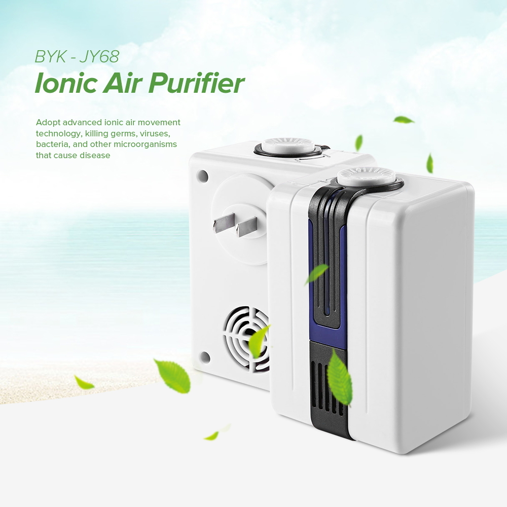 Portable Air Purifier Generator Ion Household office KTV Negative Ionic Durable Quiet Remove Smoke Generator Air Cleaner machine