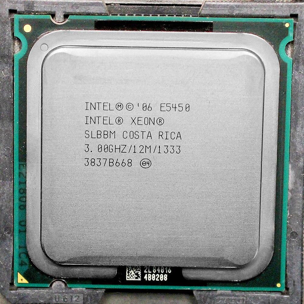 E5450 процессор Intel Xeon e5450 slbbm slanq Процессор (3.0 ГГц/12 МБ/1333 мГц/4 ядра) близко к LGA775 Q9650 работать на 775 материнская плата