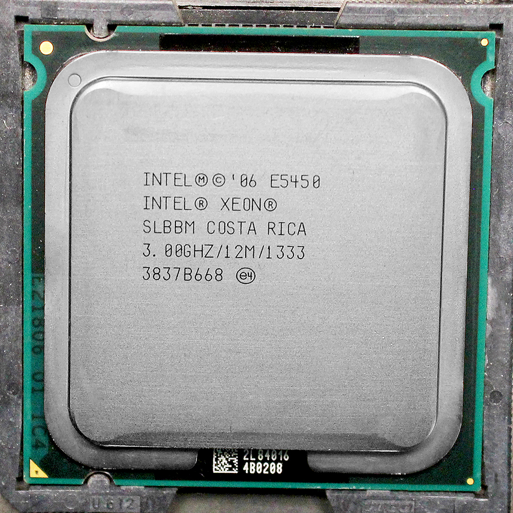E5450  Processor INTEL XEON E5450 SLBBM SLANQ CPU (3.0GHz/12MB/1333MHz/Quad Core)close to LGA775  Q9650 work on 775 motherboard intel xeon x5560 quad core 2 8ghz lga 1366 tdp 95w 8mb cache cpu warranty 1 year