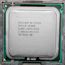 E5450  Processor INTEL XEON E5450 SLBBM SLANQ CPU (3.0GHz/12MB/1333MHz/Quad Core)close to LGA775  Q9650 work on 775 motherboard