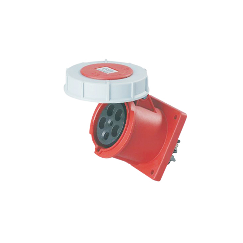 125A 5Pin Novel industrial hide direct socket connector SFN-3452 concealed installation socket ~3P+N+E cable connector IP67 электрическая вилка 63а 3p n e ip67 abb 2cma166798r1000