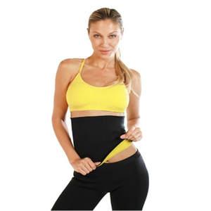2ba7b7aab2 Hot Shapers Slimming Waist Cinchers Women Neoprene Belts Weight Loss Waist  Trainer Corset Waist Trimmer Body Shaper Slimmer Belt