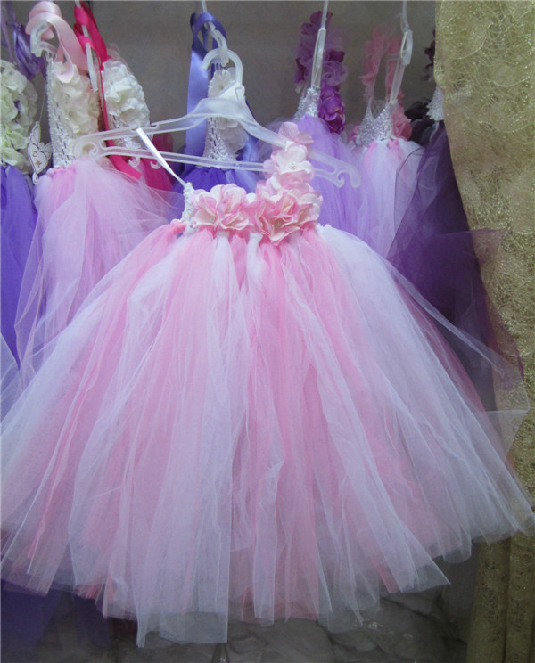 8f2e32f30 WHOSALE Pink fluffy dress toddler birthday wedding child bridesmaid for baby  girls tutu fantasias infantis 1 2 years old 90767-in Dresses from Mother &  Kids ...