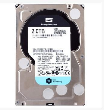 3 years warranty  100%New and original   WD2000F9YZ  2TB 64M