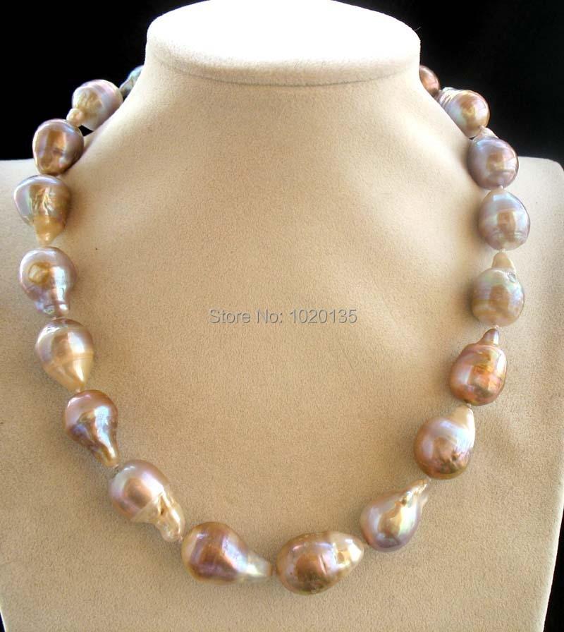 """Здесь продается  freshwater pearl purple reborn keshi necklace 19"""" nature FPPJ  Ювелирные изделия и часы"""