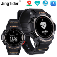 JingTider Outdoor Sport Smart Watch F6 Bluetooth Wristwatch 50m Waterproof IP68 Heart Rate Monitor GPS Watches For Android IOS