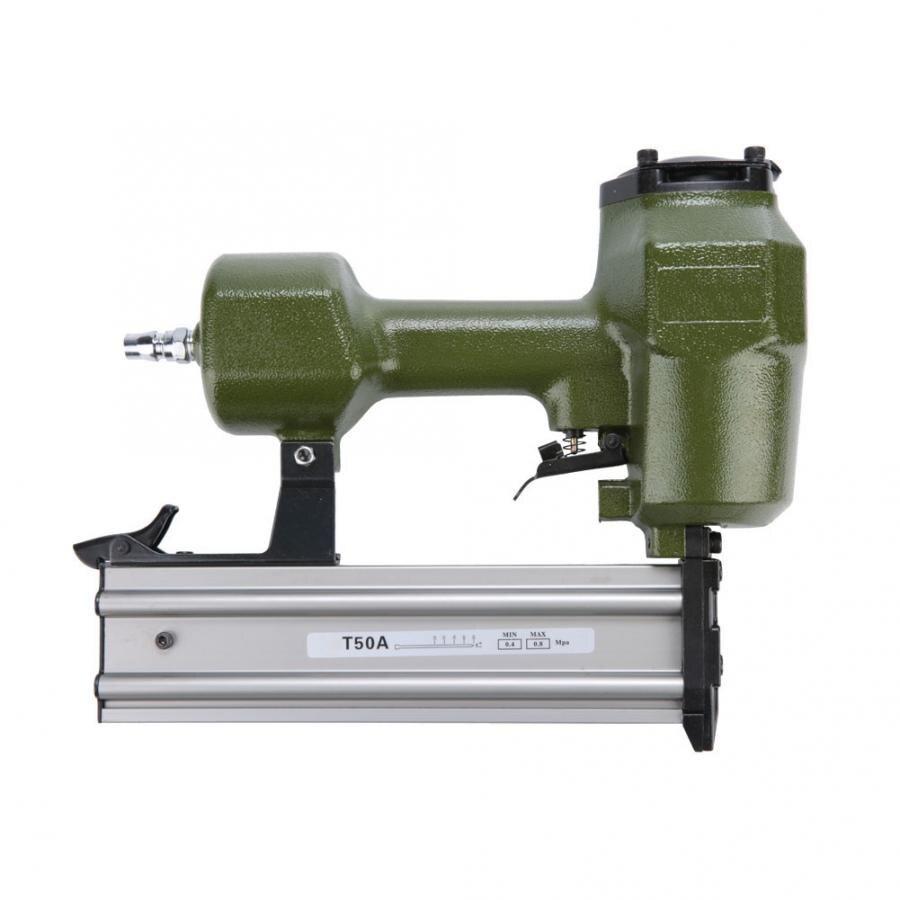 T50A Pneumatic Nail Gun Air Pneumatic Nailers Woodworking Machine Power Staple Gun Tools|Nail Guns| |  - title=