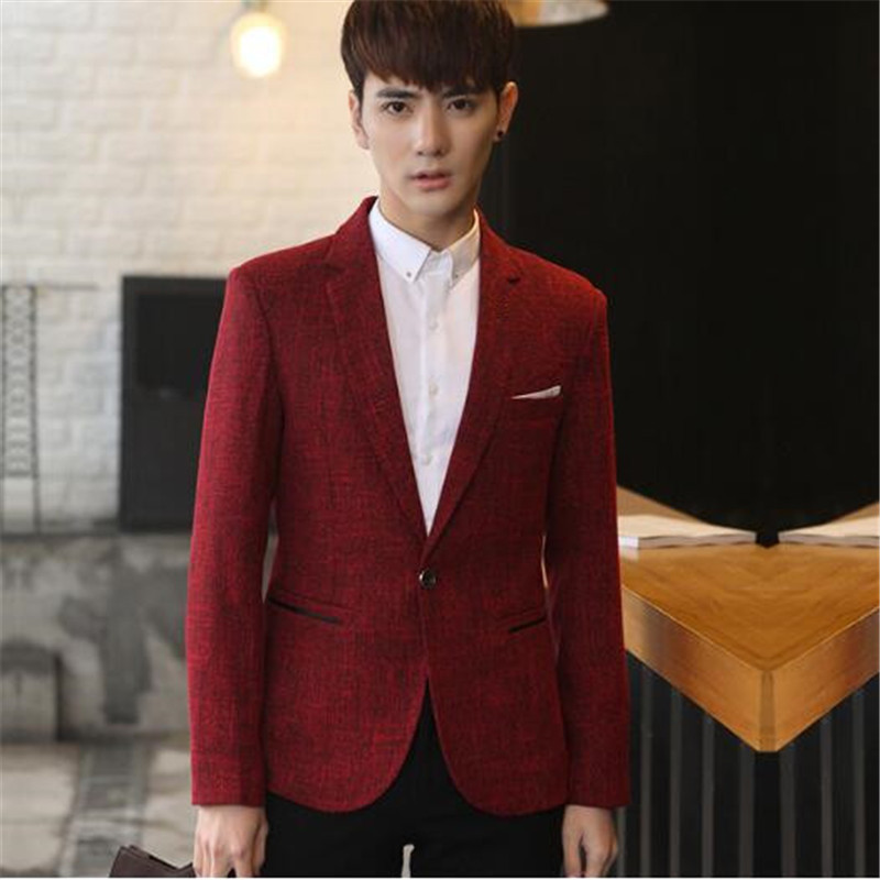 Online Get Cheap Mens Red Blazer Jacket -Aliexpress.com | Alibaba ...