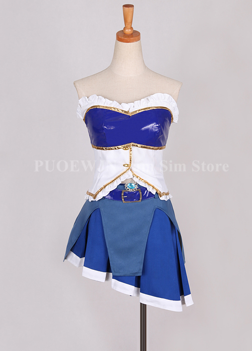 Image 3 - Anime Puella Magi Madoka Magica Cosplay Miki Sayaka Cosplay Costume Halloween Custom Made-in Anime Costumes from Novelty & Special Use