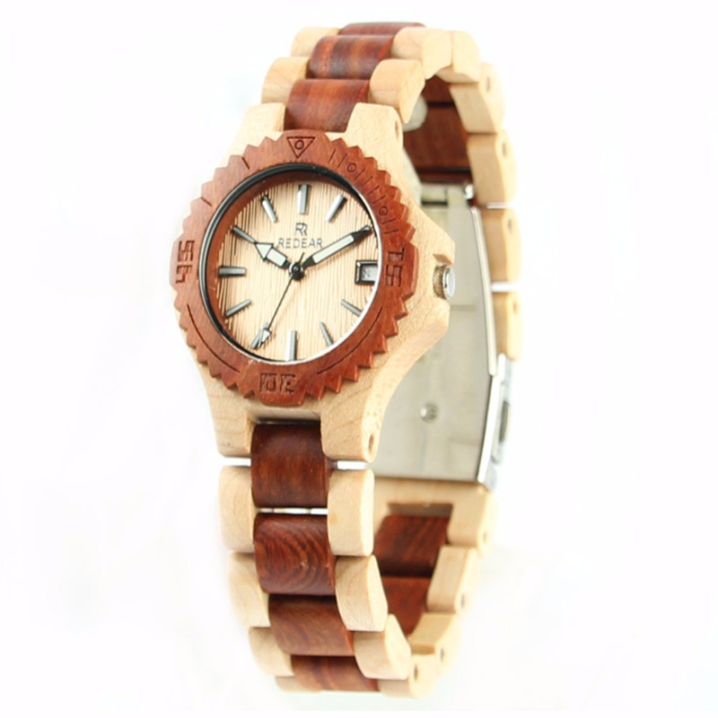 Подробнее о Hot Selling Women Fashion Full Bamboo Wooden Watches Top Luxury Brand Wood Quartz WristWatch Analog Calendar Watch Reloj Mujer 2017 newest fashion natural wood watches quartz watch cherry wood watch hot selling wooden wristwatch for men best gifts ltem