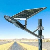 60 Вт СВЕТОДИОДНЫЕ светильники на солнечных батареях Водонепроницаемый свет Сенсор сад Солнечный свет лампы Открытый Путь Настенный светил