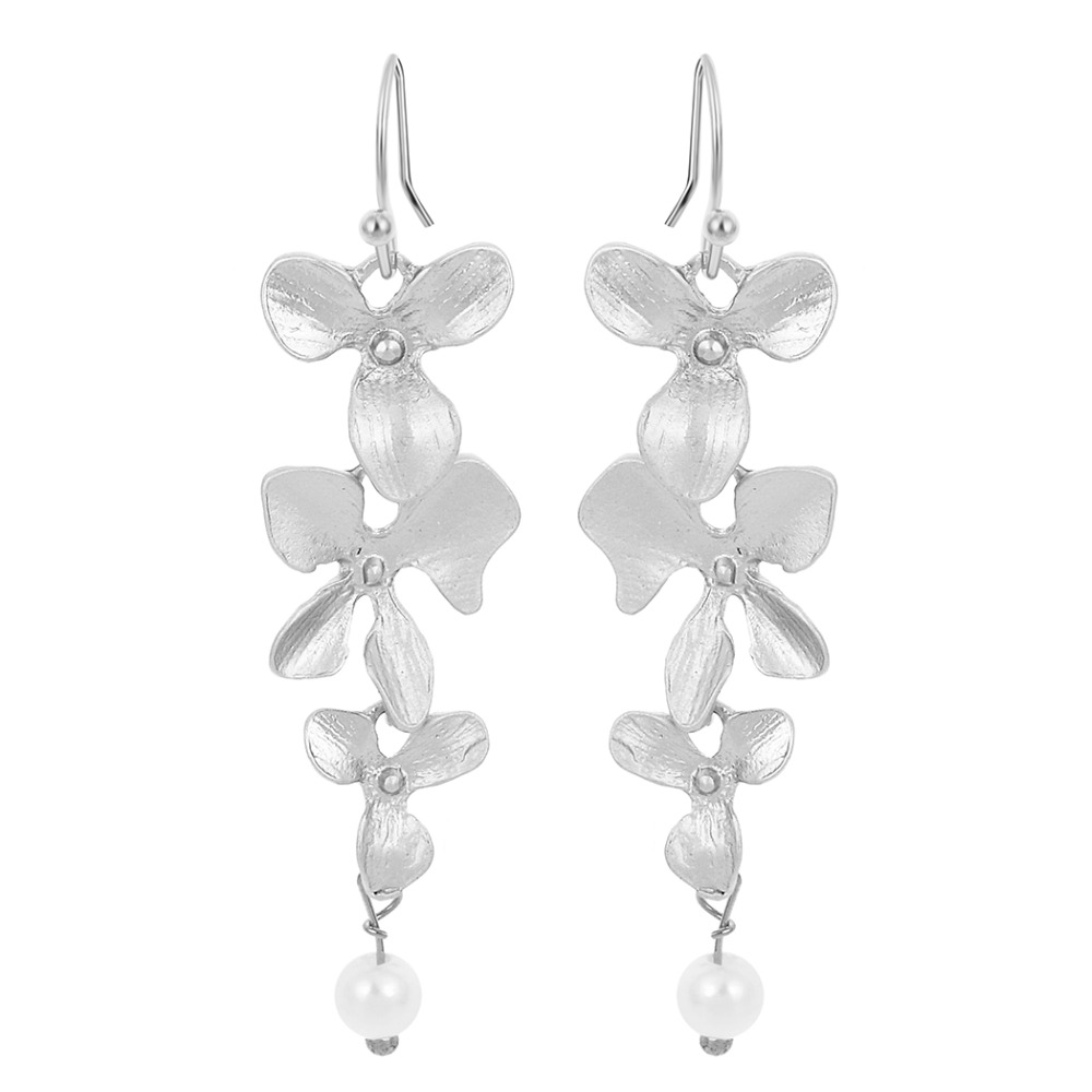 Stud Earrings  Stud Earrings: 2016 Fashion Womens Fur Pearl Double Side Percing Ear Stud 11 Colors Statement Bride's Gift Accessory