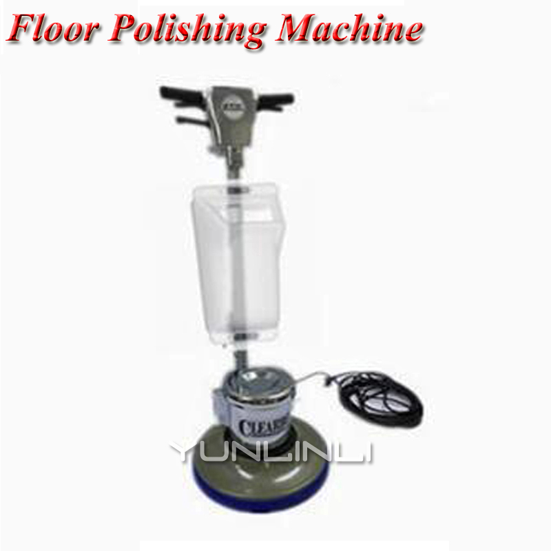Floor Polishing Machine 15L Push-Type Brushes Wiping Machine Polishing Floor Cleaning/Waxing Machine For Household/Hotel 1800W