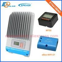 ET4415BND 45A 45amp 12v/24v/36v/48v auto work solar panel regulators wifi function BOX and MT50 remote meter