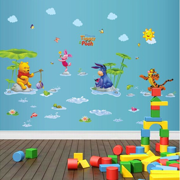 Attracting Children Lovely Cartoon Water Park Sweet