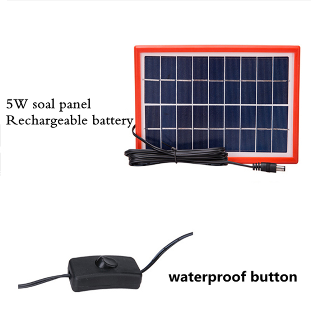 protable Solar Lamp Garden Light Solar Generator Field Emergency ...