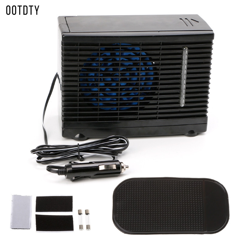 Haute qualité 1 Pc réglable DC 12 V 60 W voiture climatiseur refroidisseur ventilateur de refroidissement eau glace évaporateur refroidisseur Portable chaud nouveau