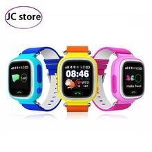 Дети Основы Безопасности Anti Потерянный GPS Трекер Smart Watch Q90 С WI-FI Дети SOS Аварийного Для Iphone & Android Smartwatch
