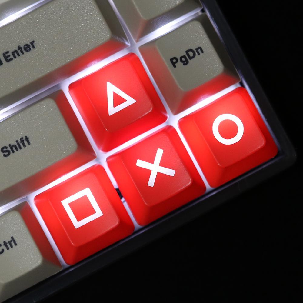 Wholesale Mechanical Keyboard ABS Keycap Lighting Translucent Backlit  Arrow Keys OEM P Mechanical Keys Enter Esc